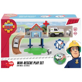 Sam a tűzoltó mini állatorvos készlet
