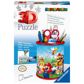 Puzzle 3D 54 db - Ceruzatartó Super Mario