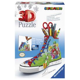Puzzle 3D 108 db - Tornacipő Super Mario