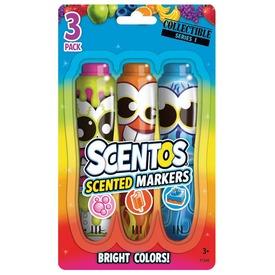 Scentos filctoll 3 darabos - pink-narancs-kék