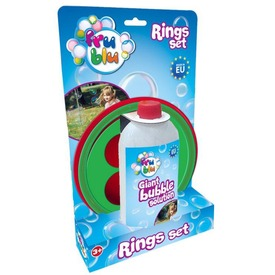 Mega Bubi gyűrű készlet folyadékkal - 500 ml