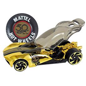 Hot Wheels arany színű kisautó