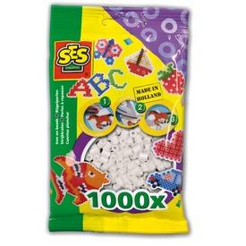 Vasalható gyöngy 1000 darabos - fehér