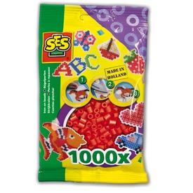 Vasalható gyöngy 1000 darabos - piros