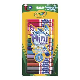 Crayola Kimosható Pip-Squeaks 14 db filckészl.