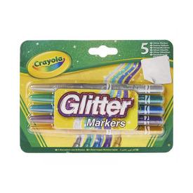 Crayola Csillámos filctollak 5 db-os