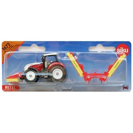 Siku Steyr traktor aratóval 1:87 - 1672