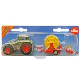 Traktor kábeltekerccsel