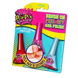 Bo-Po körömlakk 3 darabos készlet - többféle