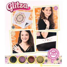 Glitza mandala 100 darabos készlet