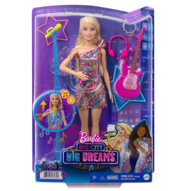 Barbie big city big dreams malibu karaoke baba