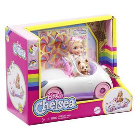 Barbie chelsea autó babával