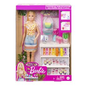 Barbie feltöltődés - smoothie bár játékszett