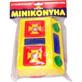 Műanyag mini tűzhely
