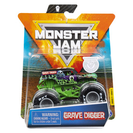 Monster Jam kisautó - 1:64, többféle
