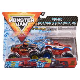 Monster Jam kisautó 2 darabos - 1:64, többféle
