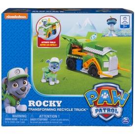 Mancs őrjárat Rocky átalakuló autója - 18 cm