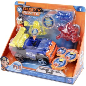 Rusty rendbehozza felhúzós autó