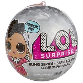 LOL Surprise meglepetés baba ezüst golyóban