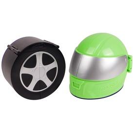Micro Wheels játékszett: autómosó / gumiszervíz
