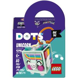 LEGO DOTS 41940 Egyszarvús táskadísz