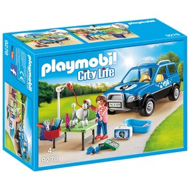 Playmobil Mobil kutyakozmetika 9278