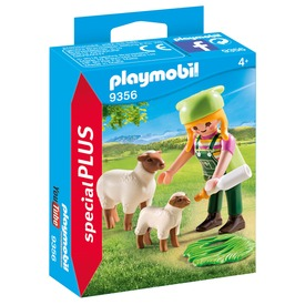 Playmobil Farmerlány báránykákkal 9356