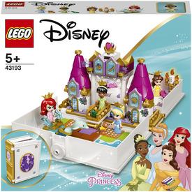 LEGO Disney Princess 43193 Ariel, Belle, Cinderella and Tianas Storybook Adventures