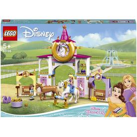LEGO Disney Princess 43195 Belle and Rapunzels Royal Stables