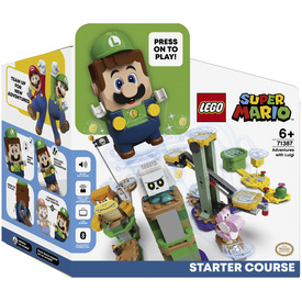 LEGO Super Mario 71387 Luigi kalandjai kezdőpálya