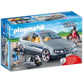 Playmobil Rohamrendőr ügynöki autó 9361