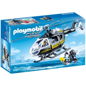Playmobil Rohamrendőr helikopter 9363
