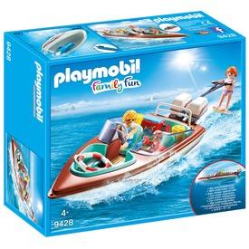 Playmobil Speedmotorcsónak és wakeboardos 9428