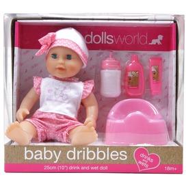 Baba, Baby dribbles. 25 cm, iszik-pisil, kiegészítőkkel Itt egy ajánlat található, a bővebben gombra kattintva, további információkat talál a termékről.