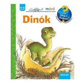 Dinók - ismeretterjesztő könyv