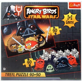 Angry Birds Star Wars 2 x 90 darabos puzzle