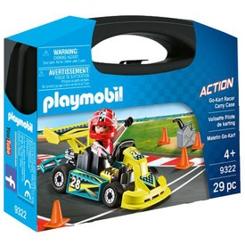 Playmobil Gokart verseny - Hordozható szett 9322