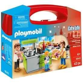 Playmobil Főzőcskézik a család - 9543