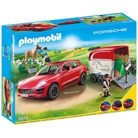 Playmobil Porsche Macan GTS lószállítóval 9376