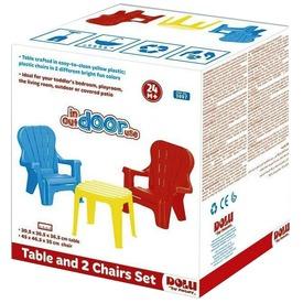 Asztal 2 székkel