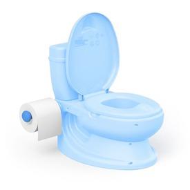 Wc alakú bili öblítés hanggal kék