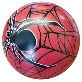 Pókos gumilabda - 22 cm, többféle