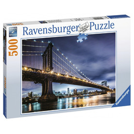 Puzzle 500 db - New York, ahol senki nem alszik