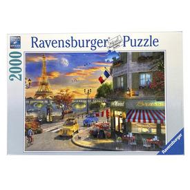 Puzzle 2000 db - Romantikus este Párizsban