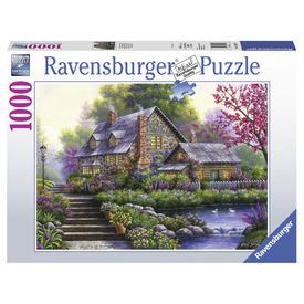 Puzzle 1000 db - Romantikus kis ház