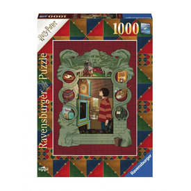 Puzzle 1000 db - Harry Potter Weasleyéknél