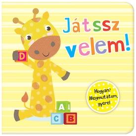 Kis zsiráf Játssz velem lapozókönyv