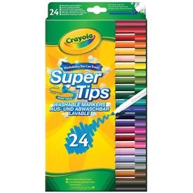 Crayola kimosható vékony filc 24db