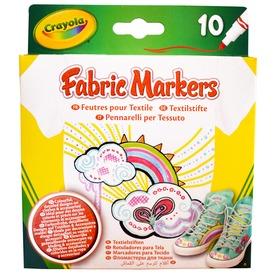 Crayola textilfilc 10db