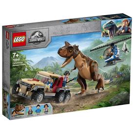 LEGO Jurassic World 76941 Carnotaurus dinoszaurusz üldözés